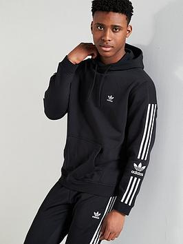 adidas Originals Adidas Originals Lock Up Hoodie - Black Picture