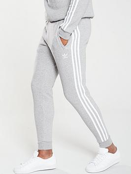 adidas Originals  Adidas Originals 3 Stripe Pants - Medium Grey Heather