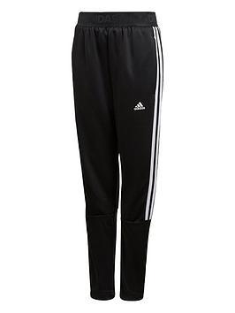 Adidas Adidas Youth 3 Stripe Tiro Pants - Black/White Picture