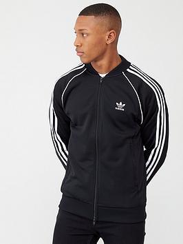 adidas Originals Adidas Originals Superstar Track Top - Black Picture