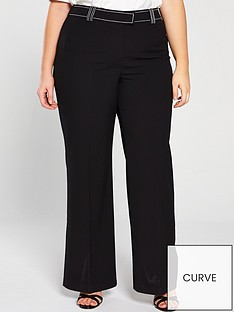 v-by-very-curve-contrast-stitch-wide-leg-trousers-black