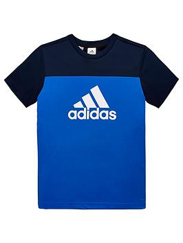 adidas-youth-equip-t-shirt-bluewhite