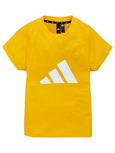 adidas-youth-id-short-sleeve-slogan-t-shirt-gold
