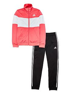 adidas-youth-pes-tracksuit-pinkblack