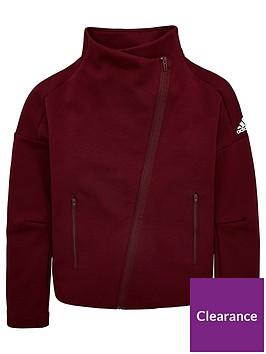 adidas-youth-id-asymmetricnbspzip-cover-up-maroonwhite