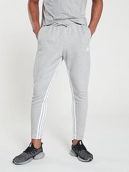 Adidas Adidas Inside Leg 3 Stripe Pants - Medium Grey Heather Picture
