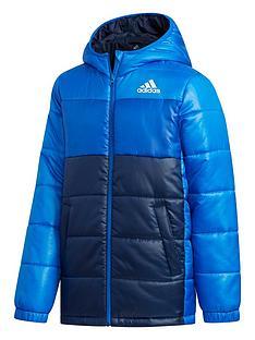 adidas-youth-synthetic-jacket-navywhite