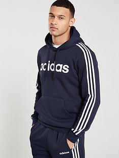 adidas-3-stripe-essential-over-head-hoodienbsp--inknbsp