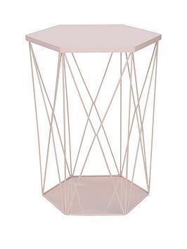wire-storage-basket-table