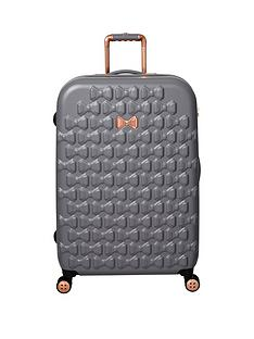 ted-baker-beau-large-4-wheel-suitcase-grey