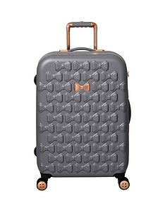 ted-baker-beau-medium-4-wheel-suitcase-grey