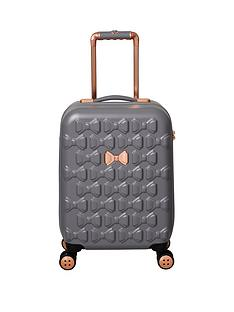 ted-baker-beau-small-4-wheel-suitcase-grey