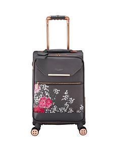 02c3b6d8ce Ted Baker Albany Small 4 Wheel Suitcase Babylon Gry