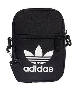 adidas-originals-trefoil-festival-body-bag-black