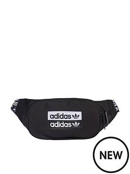 adidas-originals-ryv-waist-bag-with-branded-strap-blackwhite