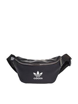 adidas-originals-leather-waist-bag-black