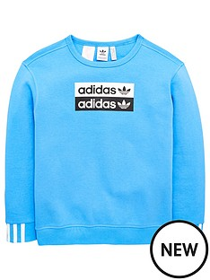adidas-originals-youth-ryv-crew-neck-sweat-blue