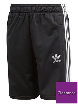 adidas-originals-childrensnbspshorts-blackwhite