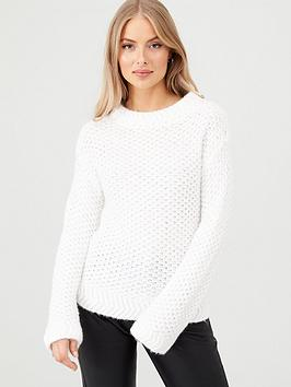 v-by-very-stitch-detail-jumper-cream