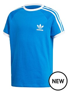 adidas-originals-youth-3-stripes-short-sleeves-t-shirt-bluewhite