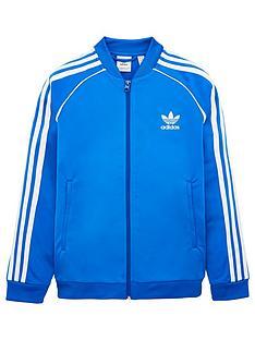 adidas-originals-youth-superstar-top-bluewhite