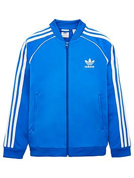 adidas-originals-youth-superstar-top-bluewhite