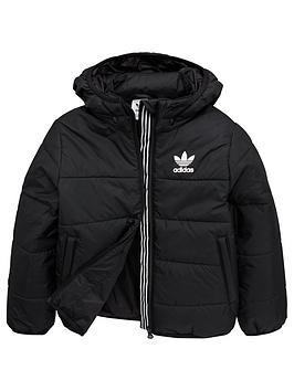 adidas-originals-youth-hooded-jacket-black