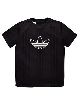 adidas-originals-youth-outline-jersey-short-sleeve-t-shirt-blackwhite