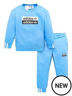 adidas-originals-little-kids-crew-set-blue