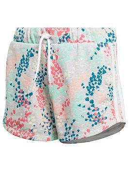adidas-originals-youth-floral-print-shorts-greymulti