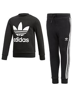 adidas-originals-little-kids-core-jogger-set-black