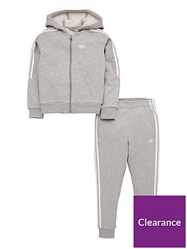 adidas-originals-little-kids-outline-hoodie-tracksuit-greywhite