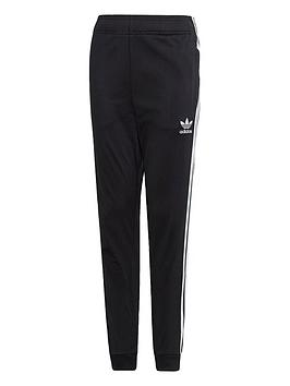 adidas-originals-youth-superstar-pants-blackwhite