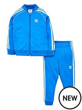adidas-originals-little-kids-superstar-tracksuit-bluewhite