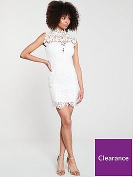 u-collection-forever-unique-floral-lace-sequin-mini-dress-ivory