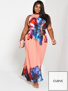 little-mistress-curve-racer-neck-floral-chiffon-maxi-dress-print