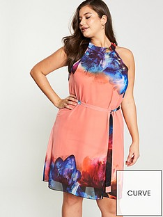 little-mistress-curve-racer-back-neck-floral-chiffon-mini-shift-dress-print