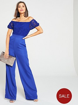 little-mistress-crochet-off-the-shoulder-jumpsuit-cobalt