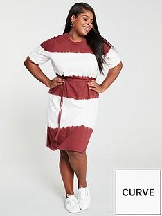 junarose-curve-tie-dye-jersey-dress-stripe