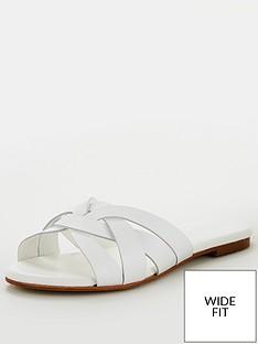 office-wide-fit-saffron-flat-sandals-white