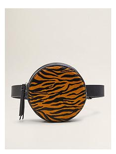 mango-leather-circle-belt-bag--nbsptiger-print