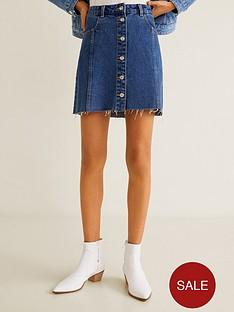 mango-button-front-denim-skirt-dark-blue