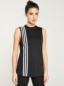 Adidas Adidas Must Haves 3 Stripe Tank - Black Picture