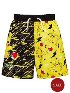 pokemon-boys-board-shorts-black
