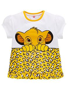 disney-the-lion-king-girls-leopard-print-short-sleeve-t-shirt-white