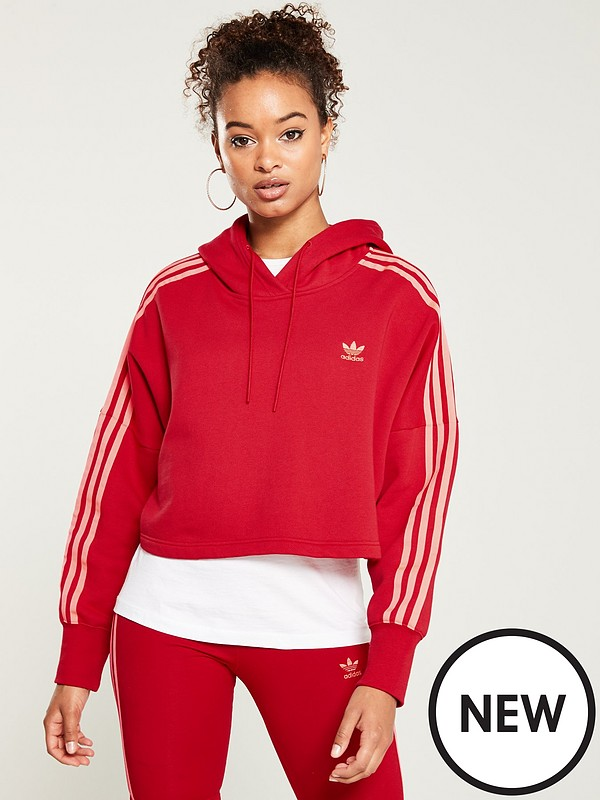 shades of authentic quality cheaper Cropped Hood - Red