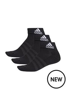 adidas-3nbspstripe-performance-ankle-sock-3pk-blacknbsp