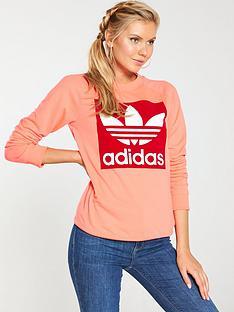 adidas-originals-trefoil-crew-neon-pinknbsp