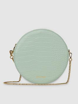 whistles-leather-brixton-circular-croc-cross-body-bag-pale-green