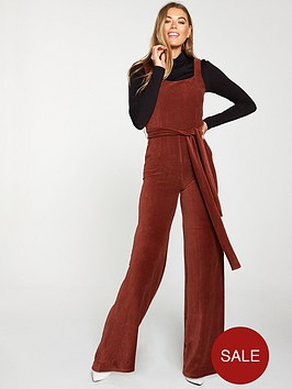 v-by-very-cord-jumpsuit-rust